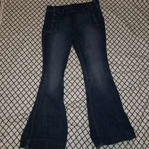 Express Bella Flare jeans